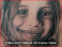 Portrait Tattoo Gallery Blue Devil